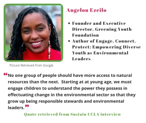 No one group of people should have more access to natural resources than the next...