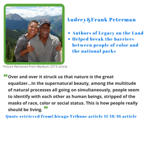 Quote: Over and over it struck us that nature is the great equalizer...""